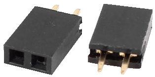 2.54mm housing PCB mount (2 ways)