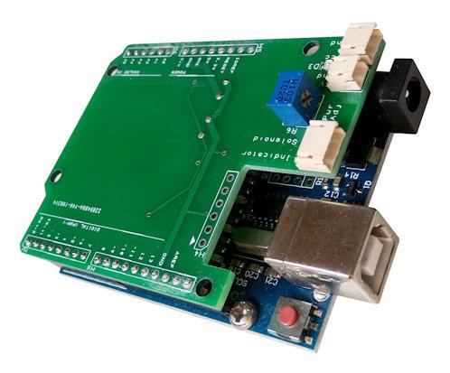 Arduino attachment hat/shield board