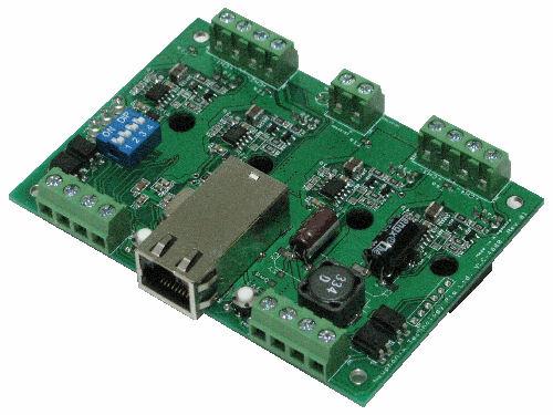 Ethernet communication control electronic prototype