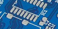 PCB blue mask