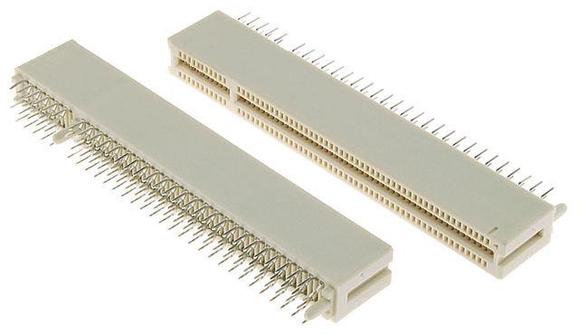 PCI connector pins (PCB mount card edge connectors)