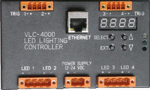 LED Pulse Controller Ethernet Network Control Strobe Lightning