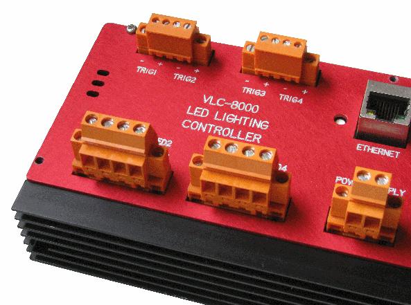 Steps control operation LED pulse light output synchronisation.