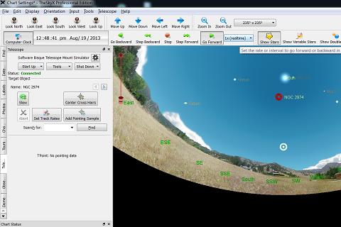 SkyXPro Software Telescope Control Interface