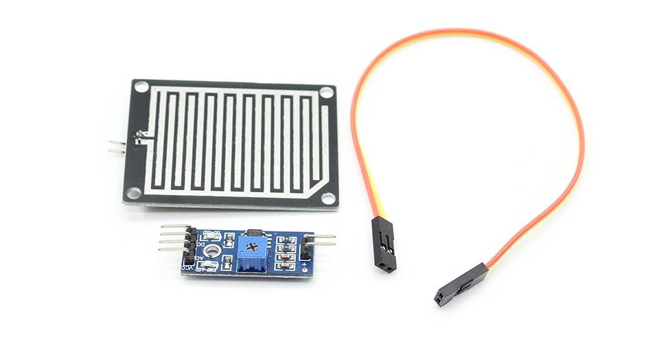 resistive rain sensor