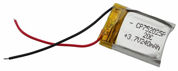 752025 Li-Po Battery