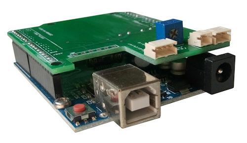 Arduino attachment PCB design and fabrication