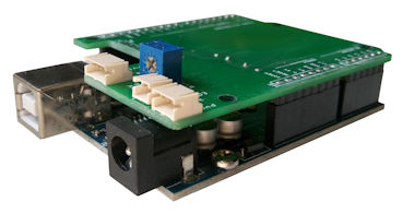 Arduino shield electronic circuit design