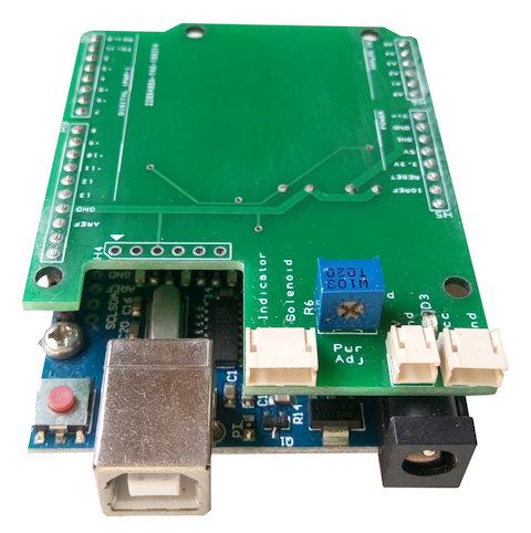 Shield hat circuit design for Arduino board kit