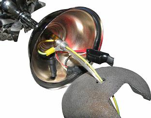 LED lotus lamp repair