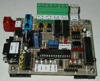 Vehicle loop sensor and barrier control circuit board prototype