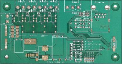 Fabricated PCB Board PIC-IUIB