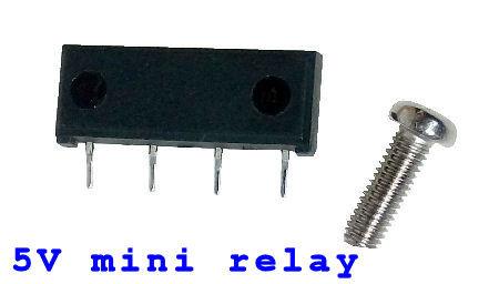 5V mini relay small miniture size
