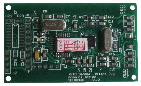 Mini RFID Reader (Back)